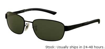 rb3430  Order Ray Ban RB3430 glasses in blue, black, gunmetal, polarized ...